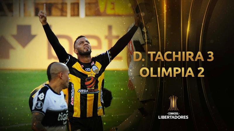 Deportivo Táchira vs. Olimpia [3-2]   Fecha 1 - Fase de Grupos   CONMEBOL Libertadores 2021