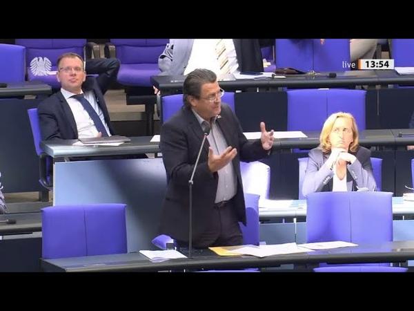 Bundestag. AfD stellt Fragen, Vertreter der Bundesregierung antwortet. 17.06.2020