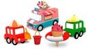 Мультики для детей. 4 машинки - новый сборник про приключения игрушек. Развивающие мультфильмы