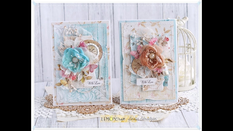 2 Cards with Lemoncraft Step by step * Emilia Sieradzan *