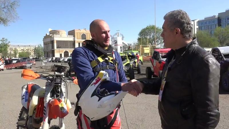 Олег Павленко выиграл мотозачет и е участие в ралли Шелковый путь