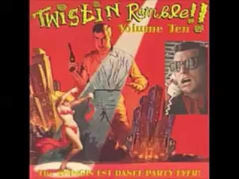 VA Twistin Rumble Vol 10 50's 60's Slops R B Titty twisters GO GO mania Jungle Exotica Music
