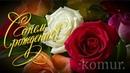 Очень красивое поздравление С Днем Рождения! красивая музыкальная открытка komur
