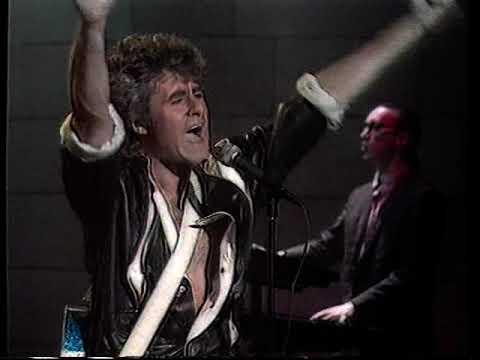 John Parr 3 songs at Schoolplein 1985 Dutch TV