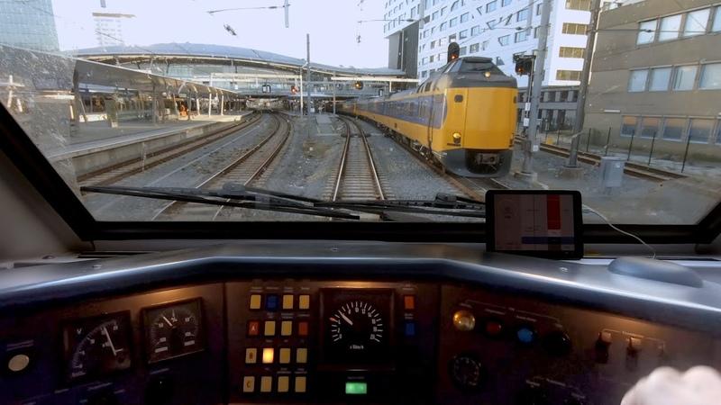 Niets is zo veranderlijk als het spoor Schiphol Arnhem Train Driver's POV VIRM 21sep 2020