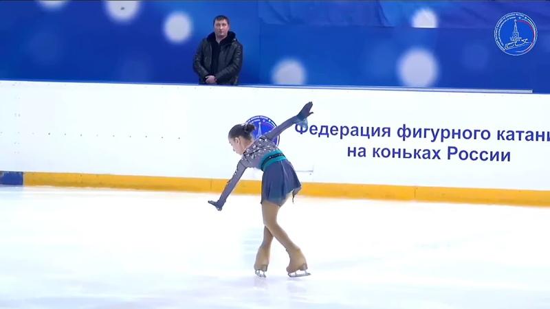 Ева ЗУБКОВА ПП 13.3.2021 Всероссийские соревнования Мемориал С.А. Жука(Саранск)