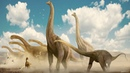 Динозавры для детей. Виды травоядных динозавров. Развивающее видео для малышей