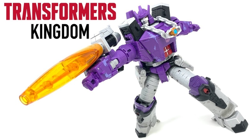Kingdom Leader GALVATRON Transformers War For Cybertron Review