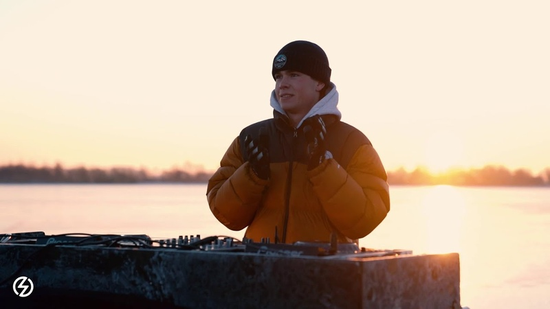 Justus 1001Tracklists Exclusive Mix LIVE From Frozen Dutch Lake