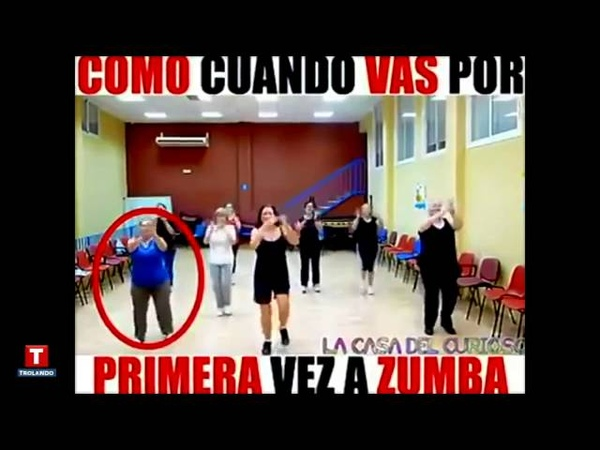 Primeira Aula de Zumba | First Time at Zumba Class Funny | Caloura Maluca