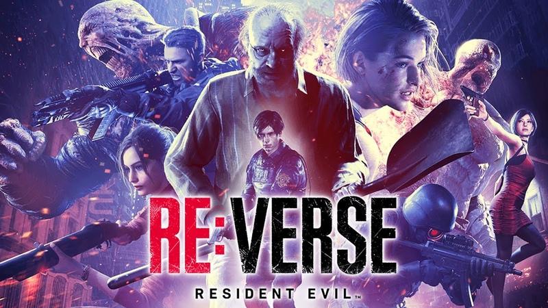 Resident Evil Re Verse - НОВЫЙ МУЛЬТИПЛЕЕРНЫЙ РЕЗИК