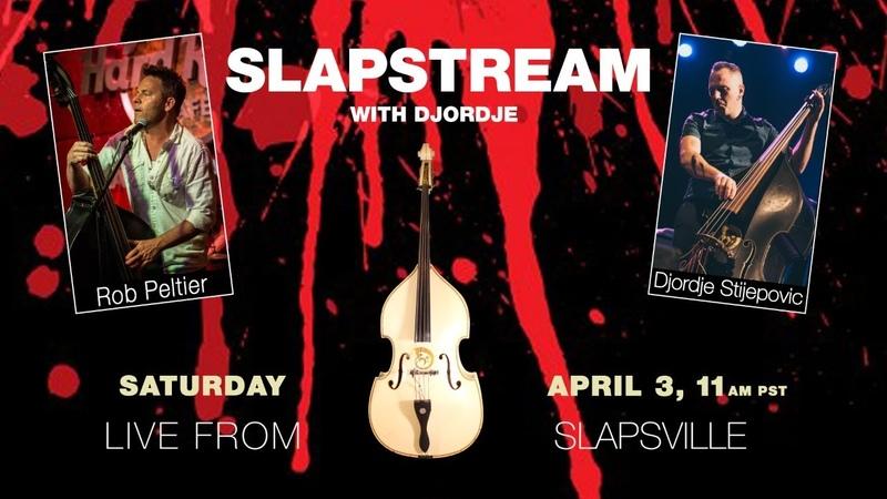 THE QUAKES Slap Bass w ROB PELTIER Slapstream with Djordje 43