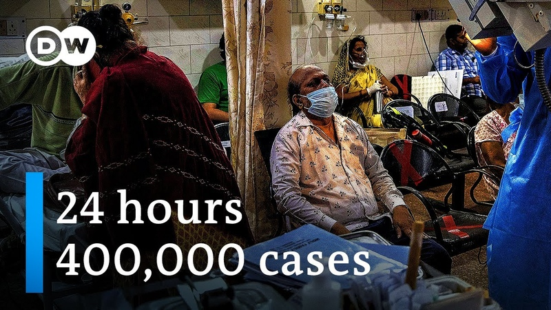 India's daily COVID cases top 400 000 amid severe vaccine shortage DW News