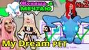 ДАРЮ ПИТОМЦЕВ твоей мечты в Adopt Me 2 серия Фрост и неон дракон! Dream Pet Адопт ми Roblox
