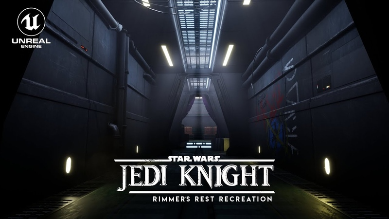 Unreal Engine 4 - Dark Forces II Jedi Knight - Nar Shaddaa Bar Environment Update 1