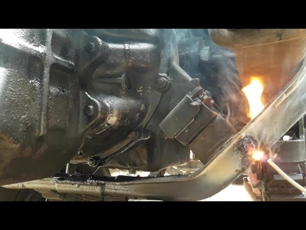 UD Nissan pkd turbo engine cross repairing