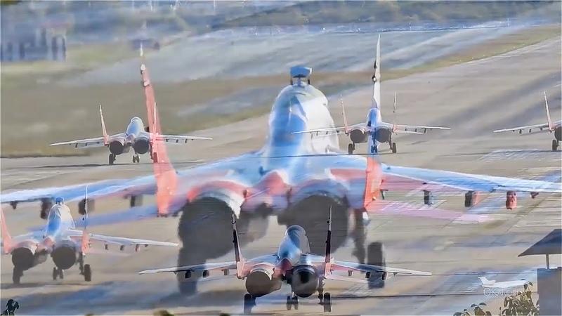 МиГ 29 взлет по чёрному Дымовуха в Сочи