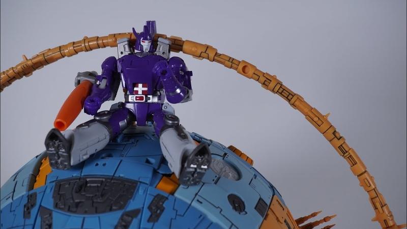 NewAge transformers Galvatron transform stop motion animation 惊破天