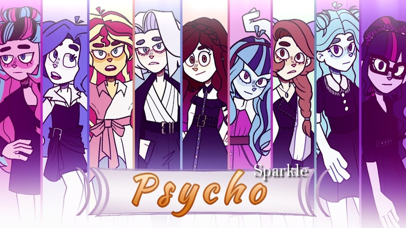 Sparkles Psycho My Little Pony Equestria Girls Russian Collab PMV