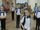 Выпускной. Танец мальчиков с портфелями
