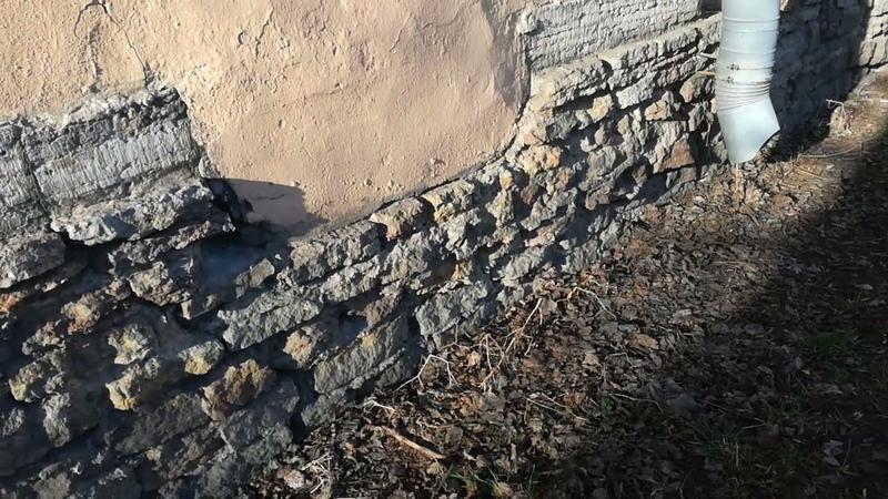Фундамент или останки древнего строения