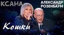 КСАНА и Александр Розенбаум - Кошки - Праздничный концерт на Первом канале в честь 8 марта