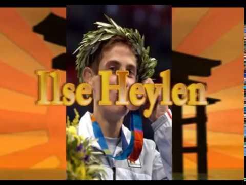 Brons Ilse Heylen BEL Olympische Spelen Athene 2004
