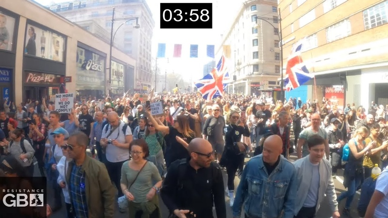 Tens or Hundreds of Thousands March for Freedom l MSM Lies Debunked