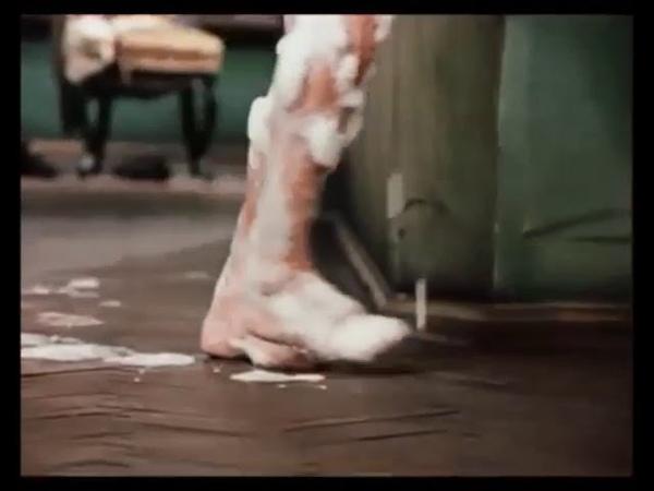 Момент из кинофильма 12 стульев когда у инженера из Москвызахлопнулась дверь
