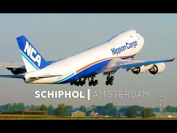 Planespotting Amsterdam Schiphol Airport HEAVY AMS 4K