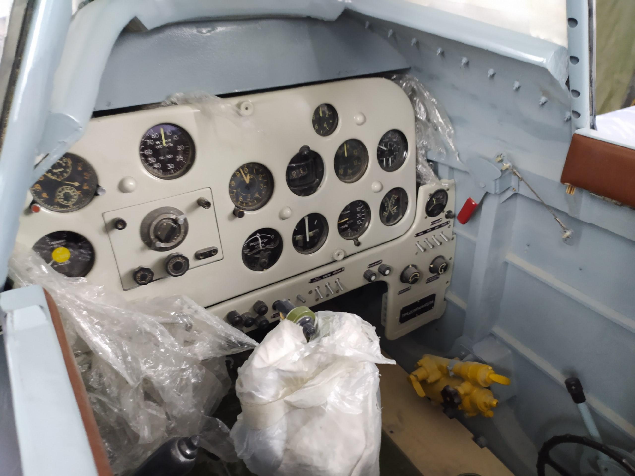 фото В Новосибирске восстанавливают уникальный истребитель времён Второй мировой: на корпусе Ла-5 снова засияют красные звёзды 7