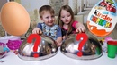 ЯЙЦО ИЛИ КИНДЕР Видео с игрушками для детей Барби сюрпризы киндеры