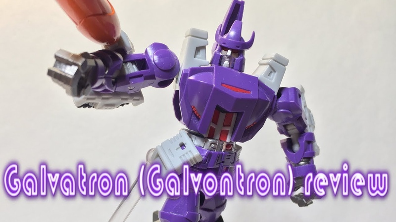 Transformers Galvatron Galvontron Stop Motion review