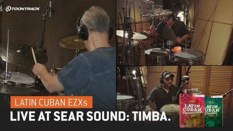 Latin Cuban EZXs – Live at Sear Sound Timba