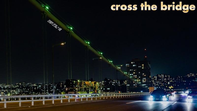 TOYOTA CROWN cross the Bridge 4K SONY FX3 24mm