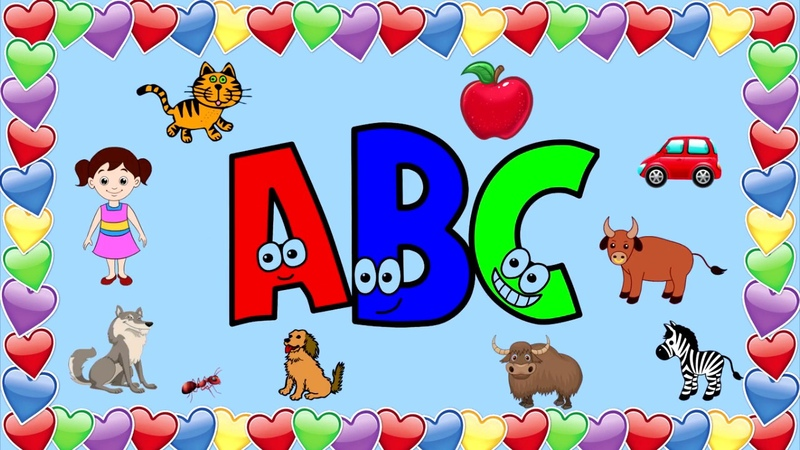 ABC, вивчаємо англійський алфавіт, букви та звуки.