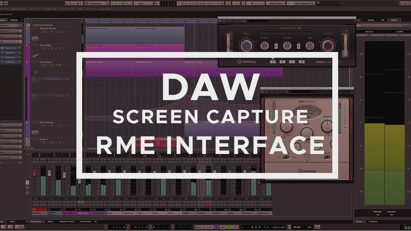 How To Record DAW Cubase FL Studio Ableton Reaper Sounds with RME Soundcard NO VOICEMEETER