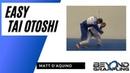 One easy way to hit tai otoshi in randori by using uchimata as your setup