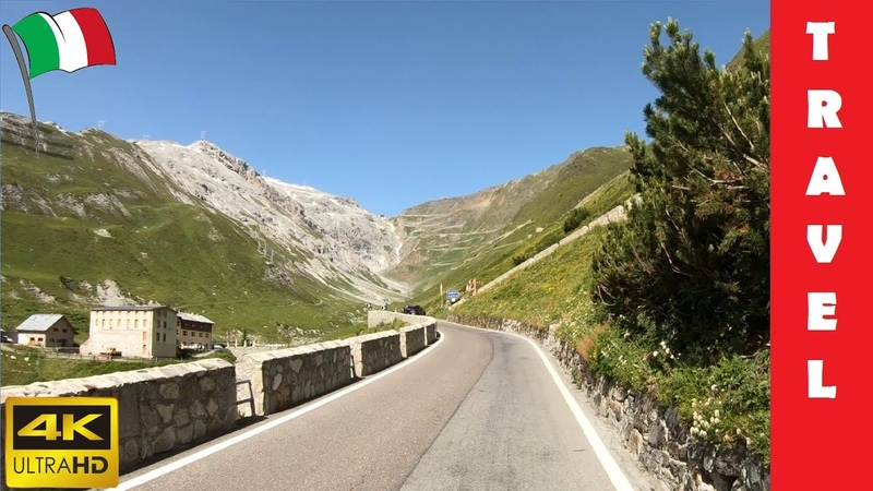 Driving in Italy 2 Stelvio Pass From Trafoi to Bormio 4K 60fps