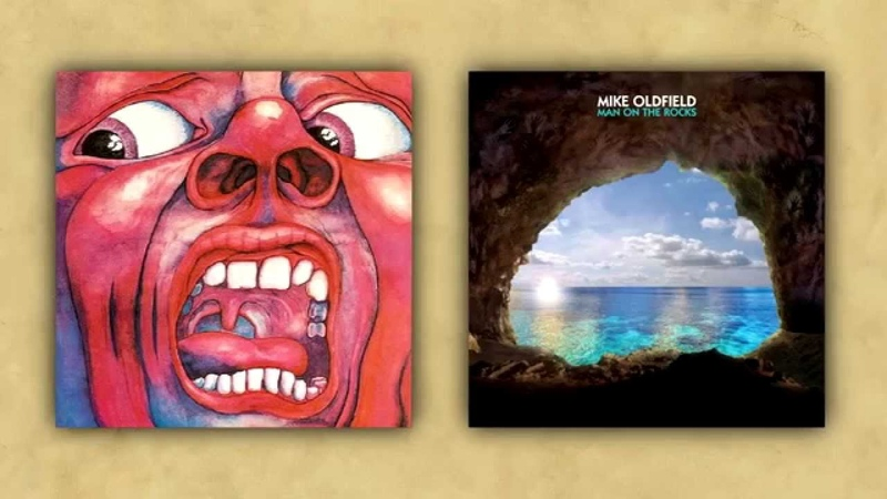 Mike Oldfield Vs King Crimson Nuclear Epitaph Comparsion