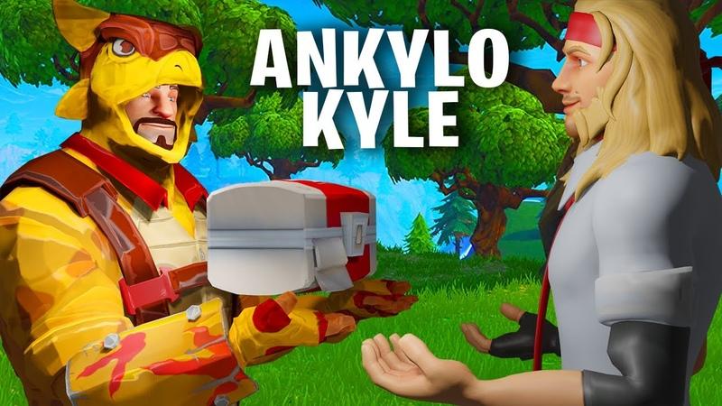 Ankylo Kyle BEST Healing Build EVER Fortnite Save the World TeamVASH