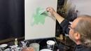 Как затонировать холст акрилом под масляную живопись. Художник Игорь Сахаров