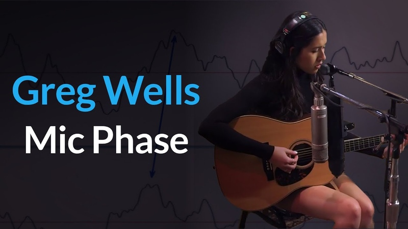 (Guitars) Checking Microphone Phase On Acoustic An Guitar With Greg Wells
