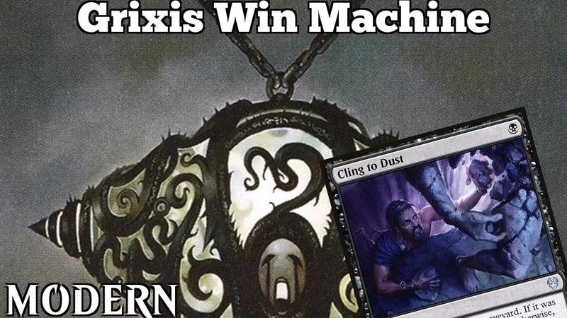 Grixis Win Machine | Modern [MTGO] | Grixis Lurrus Control | Modern