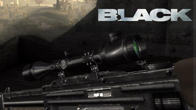 BLACK 3 - Fase do Cemitério e dos Snipers! (Legendado em Português - Clássico do PS2 Xbox)