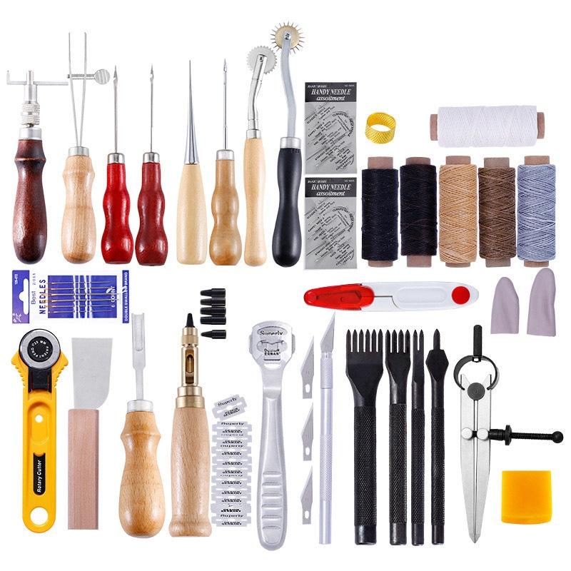 Набор инструментов для обработки кожи -