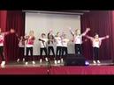 Танец школьной команды «AeroDance» на 8 марта