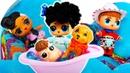 Игры для девочек Куклы ЛоЛ устроили потоп на кухне! Игры с питомцами ЛоЛ и распродажа нарядов lol!
