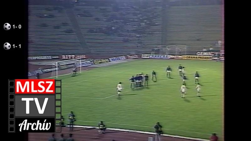 Magyarország Olaszország 1 1 1990 10 17 MLSZ TV Archív