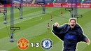 Lampard Finally Gets his Revenge Chelsea vs Man United 3-1 Tactical Analysis by Nouman
